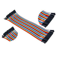 40pc Dupont Jump Wire Male To Male Jumper Ribbon Cable Lead Breadboard Arduino