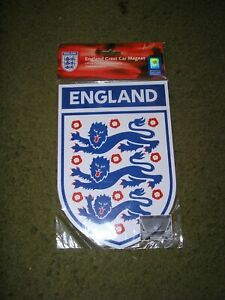 England Football England Crest Car Magnet Brand New in unopened packet Official
