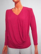 Blusa Tunica Casacca da Donna Jersey di Viscosa Rosso Tg.L/XL  Listino 99€