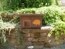 Wooden Hedgehog house/ Hibernation nesting box