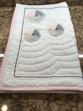 Pottery Barn Kids Organic Yvette Floral Medallion Twin Quilt And Standard Sham