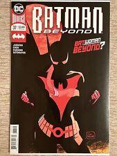 Batman Beyond #37 ~NM+~( Rare 2nd Print) 1st Full App.Batwoman Beyond! Elainna!!