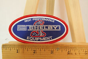 Shelby High Performance Equipment Iron-on Embroidered Patch