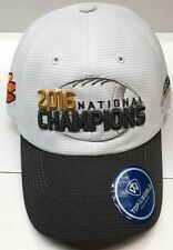 new styles 95b39 ff70d NCAA Clemson Tigers 2016 National Championship Grey Adjustable Hat
