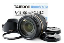 Tamron A018 18-250mm f/3.5-6.3 Di-II LD For Sony/minolta w/hood From Jpn Exc+++