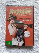 REX HUNT FISHING ADVENTURES - SPECIAL EDITION VOLUME 10,DVD R-4  NEW FREE POST