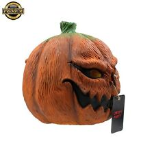 Free Shipping new Pumpkin Head Mask Deluxe Novelty Costume Party Latex Halloween