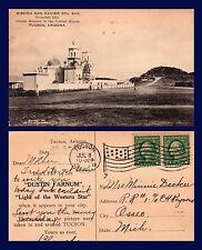 ARIZONA TUCSON ADVERTISEMENT MOVIE LIGHT OF THE WESTERN STAR 1918 TO OSSEO MI