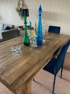 West Elm Pallet Dining Table to seat 6-8, excellent condition.