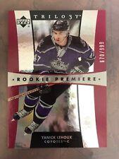 Yanick Lehoux 2005-06 UD Trilogy Rookie Premiere #d 670/999 Coyotes Kings RC