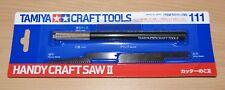 TAMIYA 74111 Portable Craft Saw II, for Radio Control Car Hard bodies, Neuf sous emballage