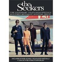 THE SEEKERS The Legendary Television Specials DVD NEW Digipak PAL Region ALL