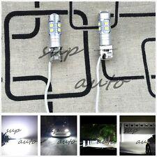 2X CREE H3 6000K Super White 100W CREE LED Headlight Bulbs Kit Fog Driving Light