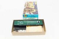 RARE HO ATHEARN KIT CP CANADIAN PACIFIC 50FT REEFER CAR GREEN SCRIPT