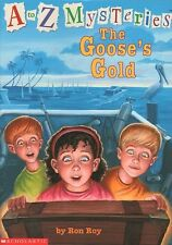 G The Gooses Gold NEW A Z Mysteries RON ROY Early Reader CHAPTER Kids BOOK