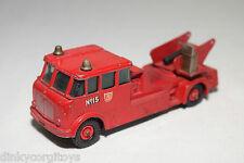 MATCHBOX 15 MERRYWEATHER FIRE ENGINE TRUCK GOOD CONDITION