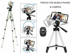 Adjustable Camera Tripod Mount Stand Holder for iPhone 12 Pro SE Max Samsung S21