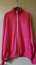 Fred Perry Mens Full Zip Long Sleeve track Jacket/top/scooterboy Size L VGC