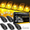 5x Amber Cab Marker Top Roof Running Light Kit For Chevy GMC C1500 C2500 C3500
