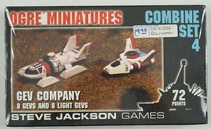 Ogre Miniatures Combine Set 4 GEV Company Steve Jackson Games 10-2104