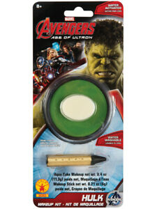 Deluxe Marvel Incredible Hulk Green Costume Accessory Makeup Kit