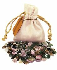 New Beginnings Power Pouch Healing Crystals Stones Set Tumbled Natural Gemstone