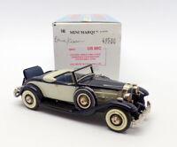 Minimarque 43 1/43 Scale US68C - Packard Twin 6 Conv Coupe - Blue/Cream