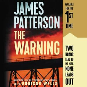 The Warning by James Patterson (2019, Unabridged) 7 CDs