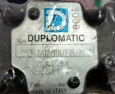 Duplomatic DS3 TA 12/11N/FO6 Hydraulic solenoid valve