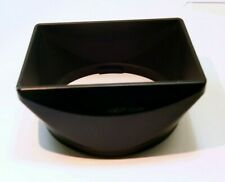 Twist on type Square lens hood shade (unknown brand) 55-58mm rim