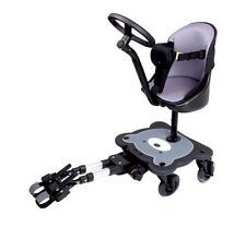 Universal Mee-Go Sit n Ride 4 Wheeled Buggy Ride on Board with Seat & Harness
