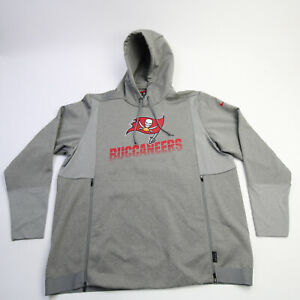 Tampa Bay Buccaneers Nike Dri-Fit Sweatshirt Men's Gray New without Tags