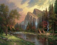 The Mountains Declare his Glory by Thomas Kinkade (Limited Collection)