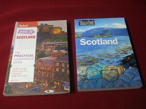 Scotland Travel Guides-Lot Of Two-Fodor's And Time Out