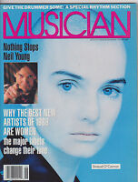 JUNE 1988 MUSICIAN -- vintage music magazine - SINEAD O'CONNOR - NEIL YOUNG