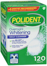 POLIDENT OVERNIGHT TABLET MINT 120CT