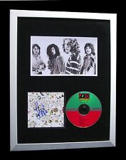 LED ZEPPELIN+SIGNED+FRAMED+iii+3+STAIRWAY+LOVING=100% AUTHENTIC+FAST+GLOBAL SHIP