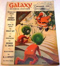 Galaxy Science Fiction – US digest – Dec. 1959 - Vol.18 No.2 - Dick, Sheckley