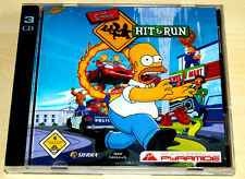 PC SPIEL - THE SIMPSONS HIT & RUN - 3 CD-ROM - IM JEWEL CASE