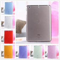 Clear Soft TPU Silicone Transparent Case Cover Skin For Apple iPad Mini 1 2 3 4