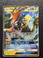 Pokemon Tapu Koko GX 47/145 Sun & Moon Guardians Rising Trading Card Game MINT