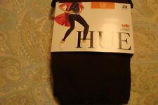 HUE Womens COTTON LEGGINGS**   Espresso Brown **  PLUS Size  2X - - NWT