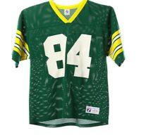 American Football Trikot Herren Größe L Gelb Grün Jersey Sport Shirt