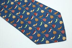SALVATORE FERRAGAMO Silk tie Made in Italy F15897