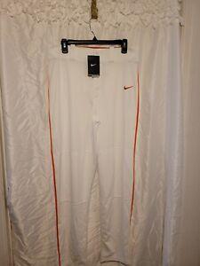Nike's Dri-Fit Baseball/Softball Orange And White Pants Men's Size Medium NWT