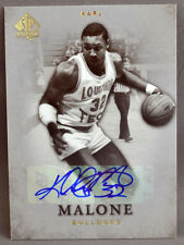 12-13 Upper Deck UD SP Authentic Karl Malone NBA AUTO 2012 2013 UTAH JAZZ