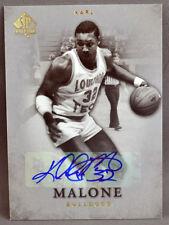 12-13 Upper Deck UD SP Authentic Karl Malone NBA AUTO 2012 2013 UTAH JAZZ