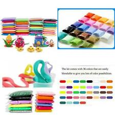 Szsrcywd Air Dry Clay,DIY 36 Colors Ultra Light Modeling Clay Magic Crafts Kit W