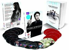 TORCHWOOD 1-4 (2006-2011) COMPLETE w. CHILDREN OF EARTH + MIRACLE DAY -  DVD UK