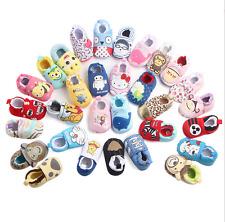Toddler Newborn Cartoon Soft Crib Sole Baby Kids Girls Boys Prewalker Shoes